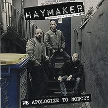 We Apologize to Nobody