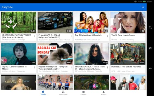 『Daily Tube for DailyMotion』の2枚目の画像
