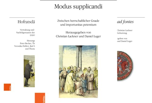 Veröffentlichungen des Instituts für Österreichische Geschichtsforschung (Reihe in 4 Bänden)