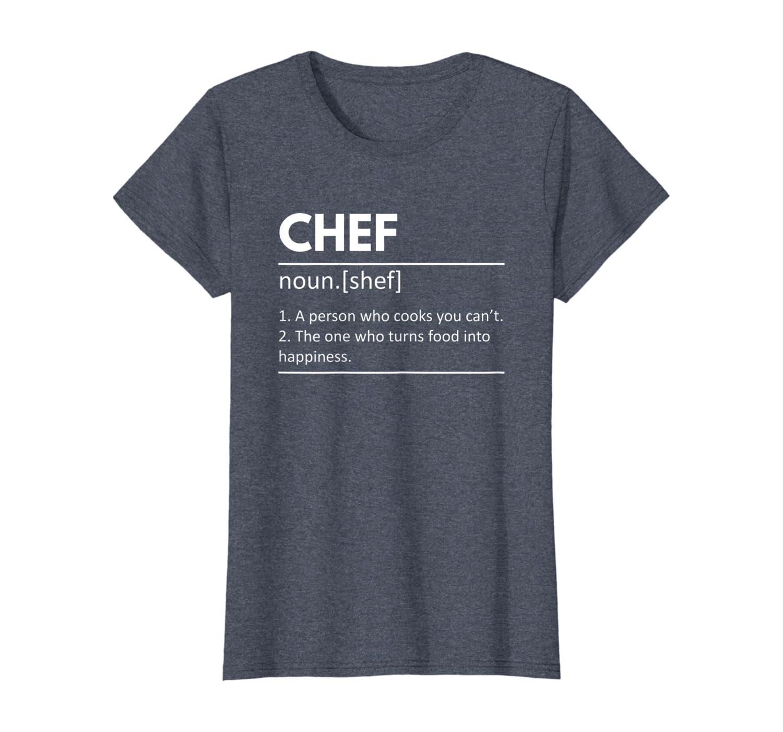 regalo de chef cocinero Camiseta Definici/ón de chef de cocina