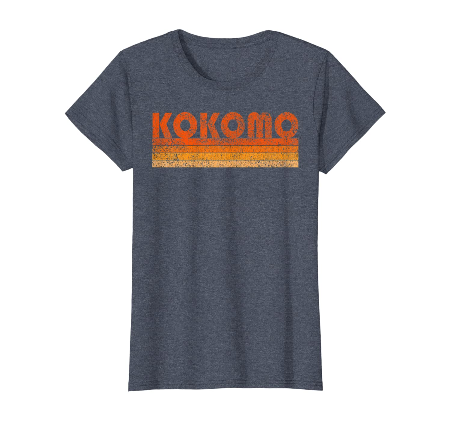 amazon com vintage retro kokomo indiana t shirt clothing vintage retro kokomo indiana t shirt