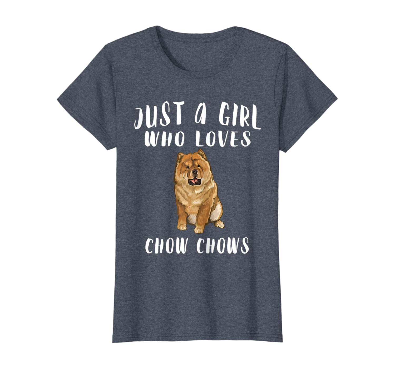 Juste Une Fille Qui Aime Chow Chow T-Shirt