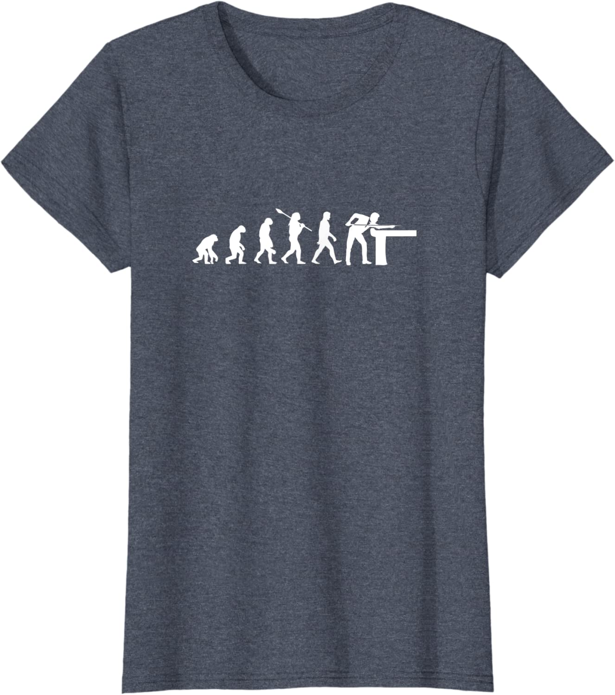 Lustiges Billard Pool Snooker T-Shirt I Geschenk
