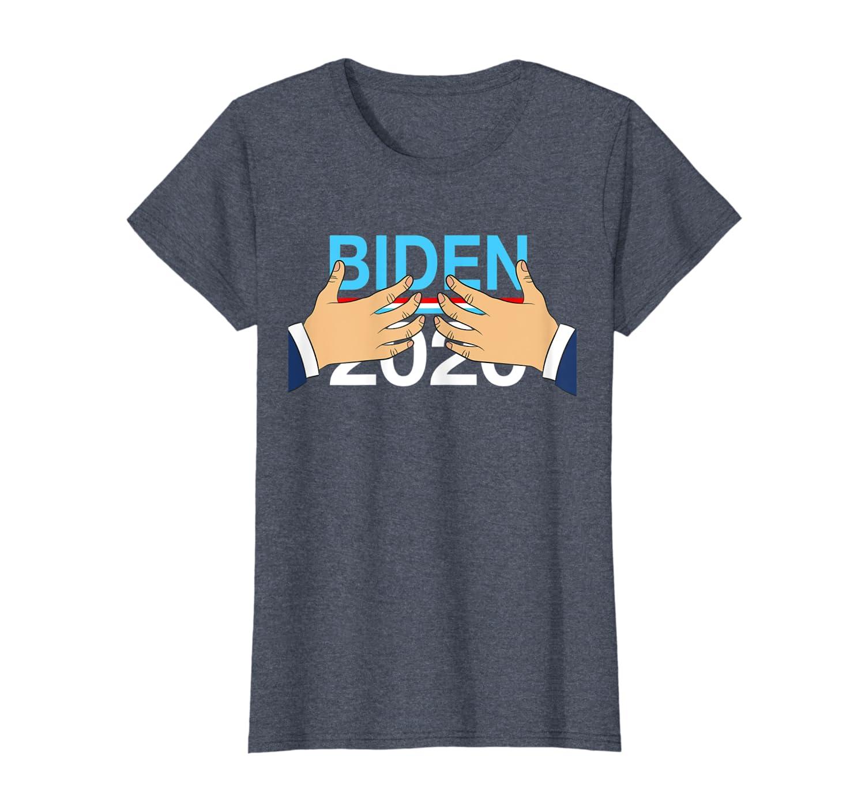 Womens Funny Joe Biden Hands On Shirt 2020 Election T Shirt-TH