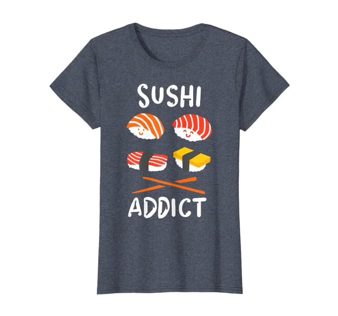Amazon.com: Camiseta de Sushi para amantes de la comida ...