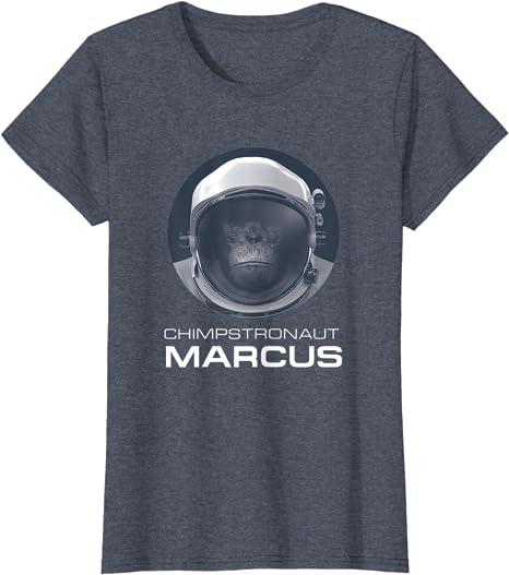 Netflix Space Force Chimpstronaut Marcus Langarmshirt