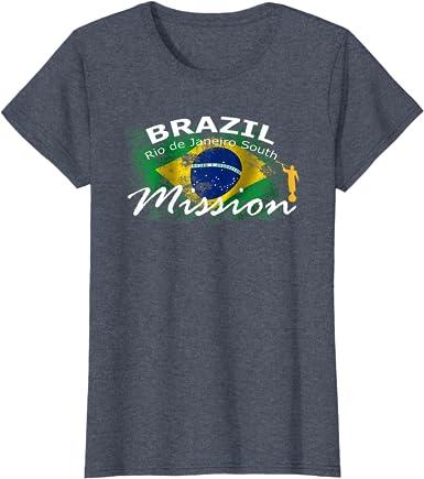Brazil Rio de Janeiro Mission Necklace LDS