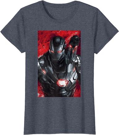 Kids Women/'s Mens Marvel Avengers War Machine T-Shirt Comic Book