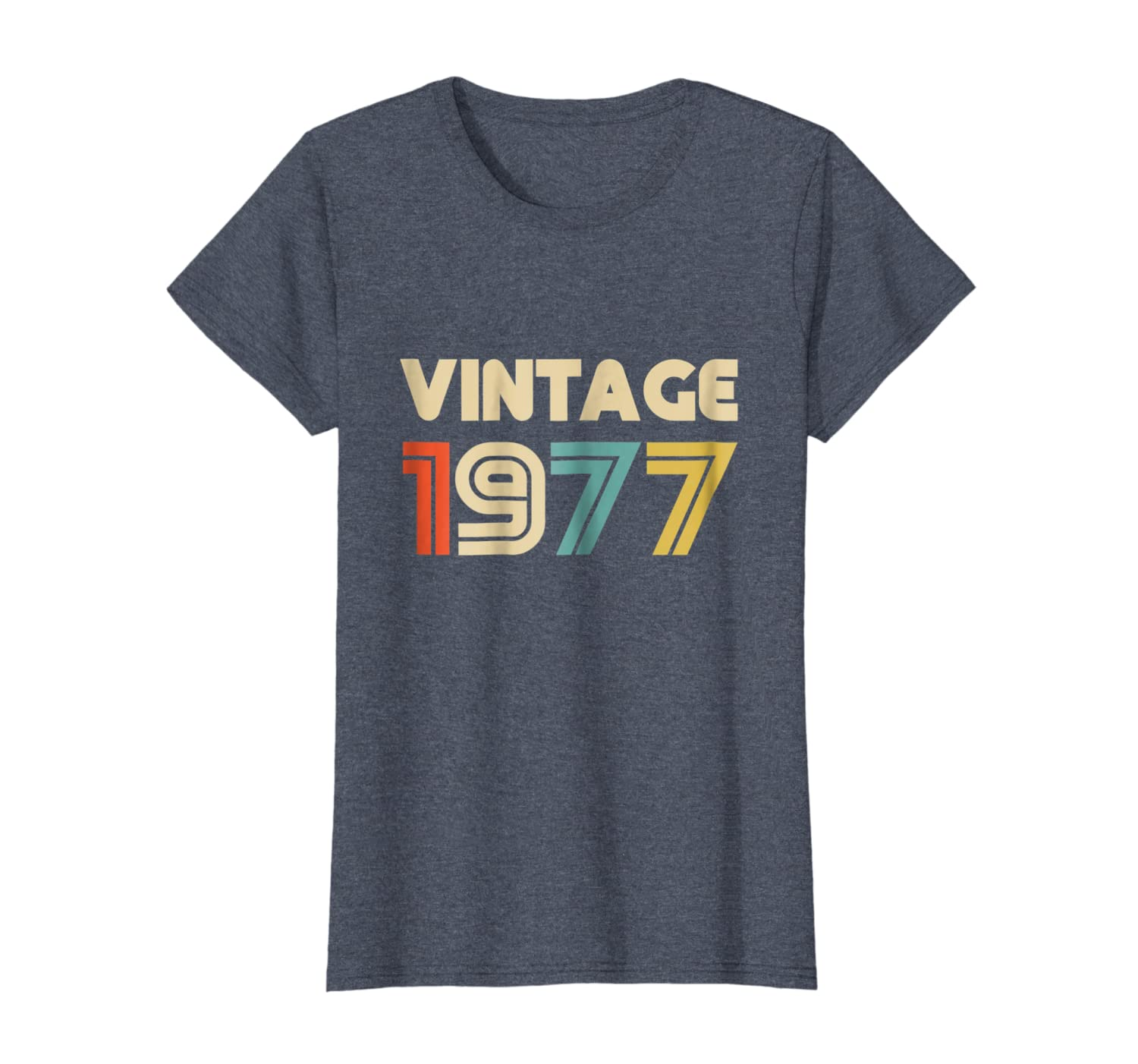 f203fd8fafd8f Vintage 1977 40th Birthday Gift T Shirt 40 Yrs Years Old Tee