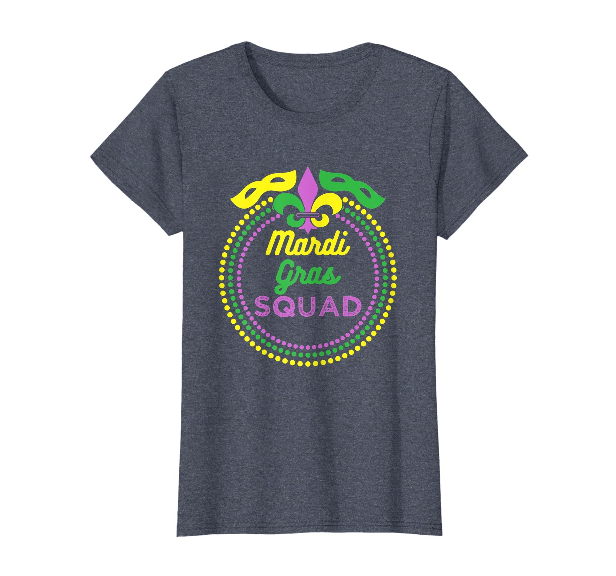 b62f3936 Amazon.com: Mardi Gras shirt Funny Festival Mardi Gra T-Shirt: Clothing