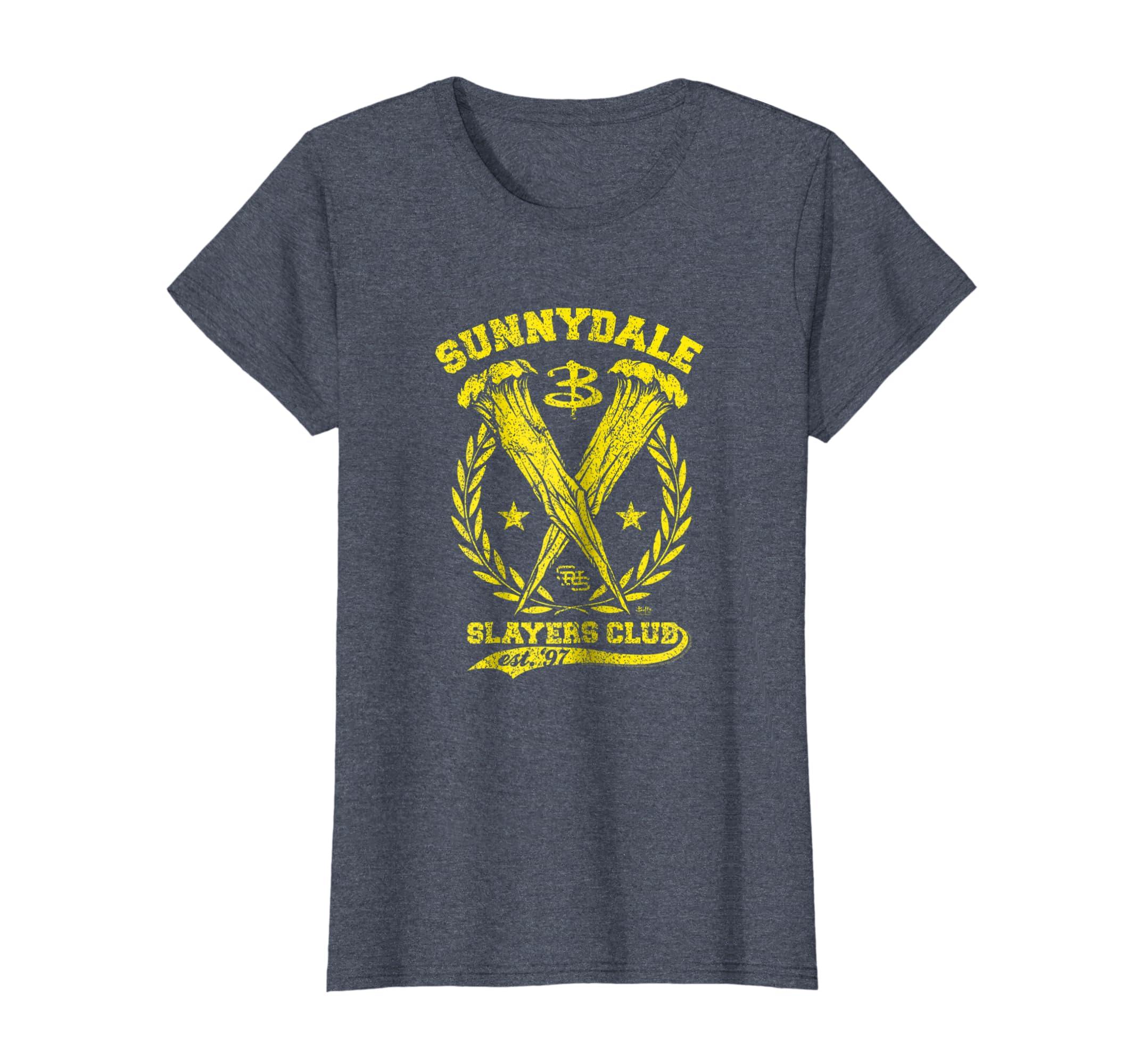 dc23e13df3c31 Buffy Sunnydale Slayers Club T-shirt