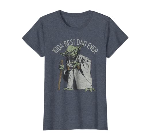d3b6195c7 Amazon.com: Star Wars Yoda Best Dad Ever Graphic T-Shirt: Clothing