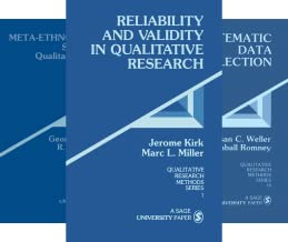 Qualitative Research Methods (32 Book Series)