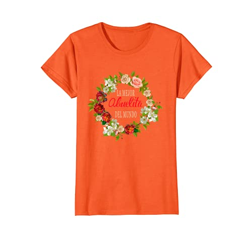 Amazon.com: Womens La Mejor Abuelita Del Mundo - Shirts in Spanish for women: Clothing