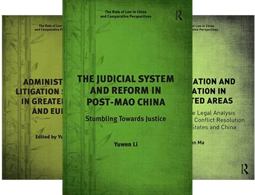 The Rule of Law in China and Comparative Perspectives (11 Book Series)