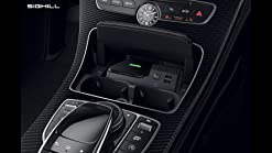 QI Car Wireless Charger Wireless Phone Charging For Benz C-Class GLC W205 X253