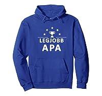 Best Hungarian Dad Premium T-shirt Hoodie Royal Blue