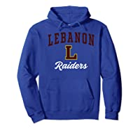 Lebanon High School Raiders Premium T-shirt Hoodie Royal Blue