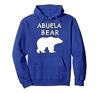 Abuela Bear Bear Gifts For Grandma Grandparents Shirts Hoodie Royal Blue