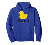 Rubber Duck Nana Shirts Hoodie Royal Blue