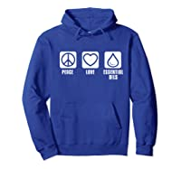 Essential Oil Gifts Shirts Hoodie Royal Blue