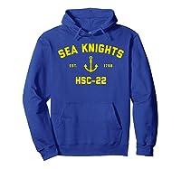Hsc-22 Sea Knights T-shirt Hoodie Royal Blue