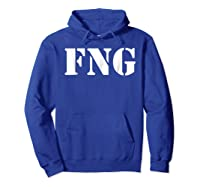 Fucking New Guy Shirts Hoodie Royal Blue