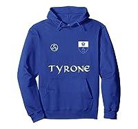 Tyrone Gaelic Football Hurling Shirts Hoodie Royal Blue