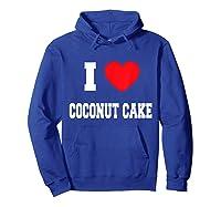 Love Coconut Cake Shirts Hoodie Royal Blue