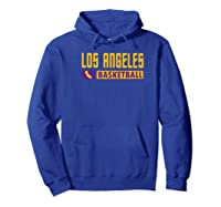 Los Angeles Basketball T-shirt, California Hoops T-shirt Premium T-shirt Hoodie Royal Blue