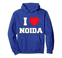 I Love Noida T-shirt Hoodie Royal Blue