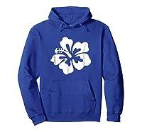 Hawaiian Hibiscus Flower Shirt Hawaii T Shirt Hoodie Royal Blue