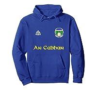 Cavan An Cabhan Gaelic Football Shirts Hoodie Royal Blue