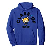 Aggretsuko Class Of 2019 Graduation Graduate T-shirt Hoodie Royal Blue