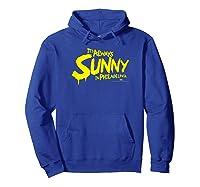 It's Always Sunny In Philadelphia Season 13 Logo Shirts Hoodie Royal Blue