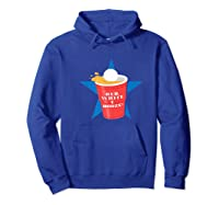 Beer Pong Party College Student Graphic Premium T-shirt Hoodie Royal Blue