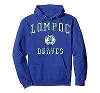 Lompoc High School Braves C1 Shirts Hoodie Royal Blue