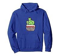 Cactus Shirts Hoodie Royal Blue