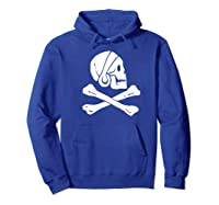 Uncharted Henry Avery Pirate Flag Shirt Hoodie Royal Blue