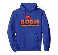 Retro Boomshakalaka Basketball Shirts Hoodie Royal Blue
