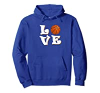 Love Basketball The Only Team Sport For The Best Ones Shirts Hoodie Royal Blue