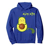 Avocato Funny Cute Cat Gift For Vegan Shirts Hoodie Royal Blue