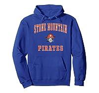 Stone Mountain High School Pirates Shirts Hoodie Royal Blue