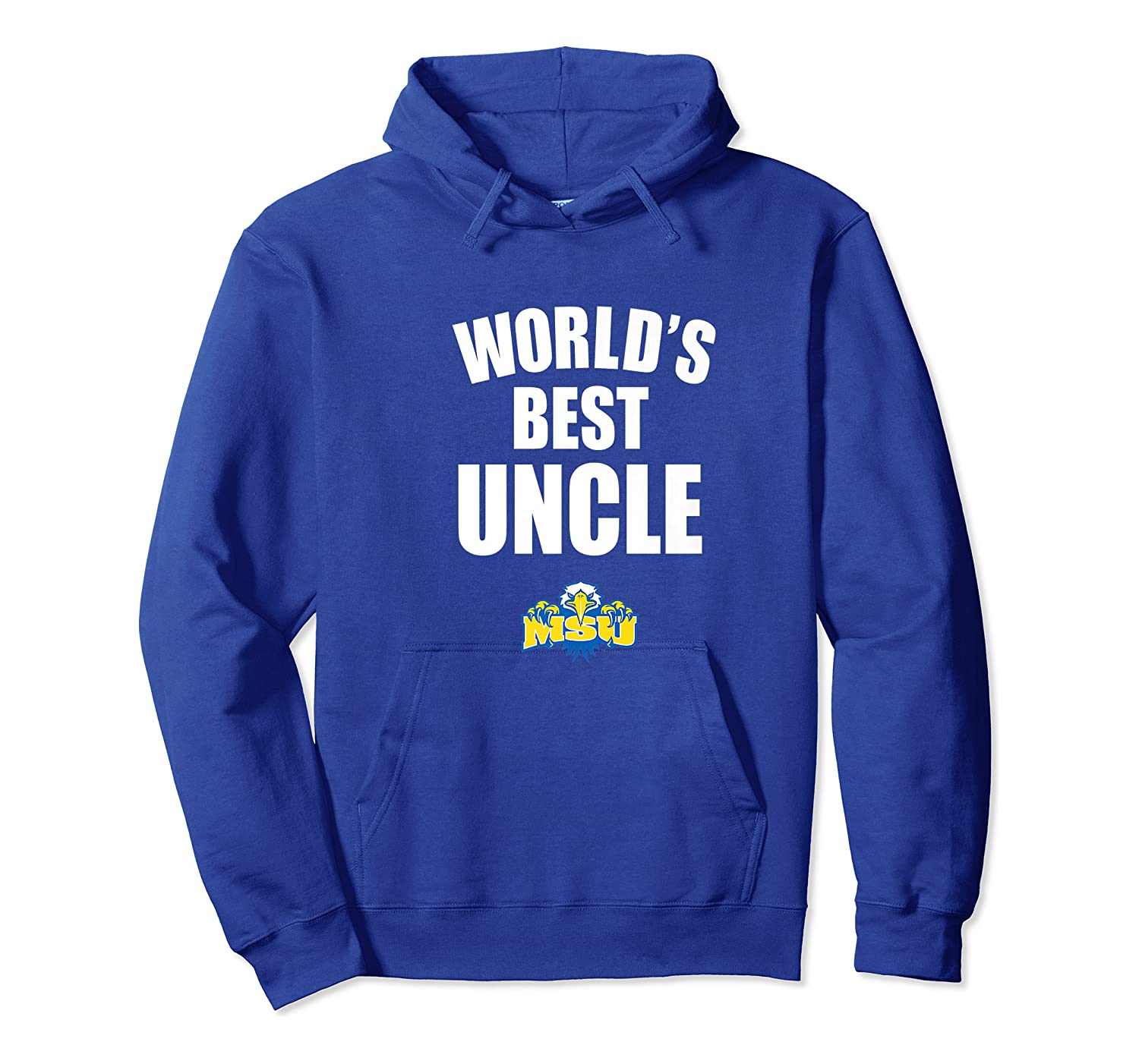 Morehead State Eagles World's Best Uncle - Bold Premium T-shirt Unisex Pullover Hoodie