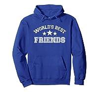 World\\\'s Best Friends T-shirt Hoodie Royal Blue