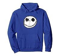 Disney Jack Skellington T-shirt Hoodie Royal Blue