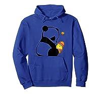 Panda Gifts Baby Chic Easter Panda Shirts Hoodie Royal Blue