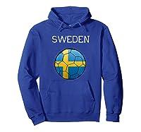 Sweden 2018 Soccer Fan, Swedish Football Shirts Hoodie Royal Blue