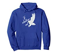 Bookworm Tog To Whatever End For Book Nerds Shirts Hoodie Royal Blue