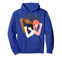 Girls And Unity Power In Diversity Feminist Shirts Hoodie Royal Blue